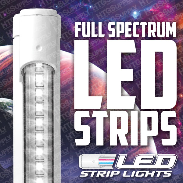 Led Strip Grow Lights Tri Band Full Spectrum Floro T5 Veg
