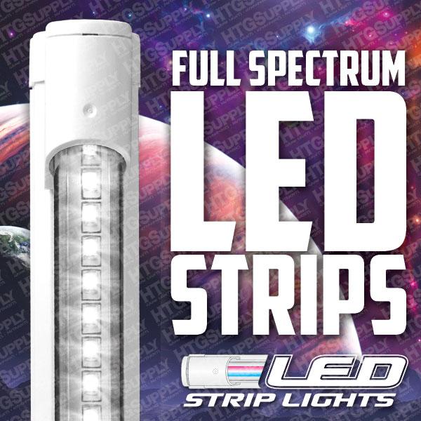 Led Strip Grow Lights Tri Band Full Spectrum Floro T5 Veg Bloom Tube Flowering Ebay