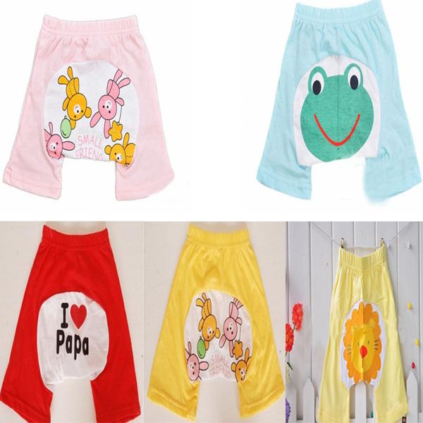 Toddler Boy Girl Baby Leggings Cute Patterns PP Kid Short Pants Trousers Bottoms