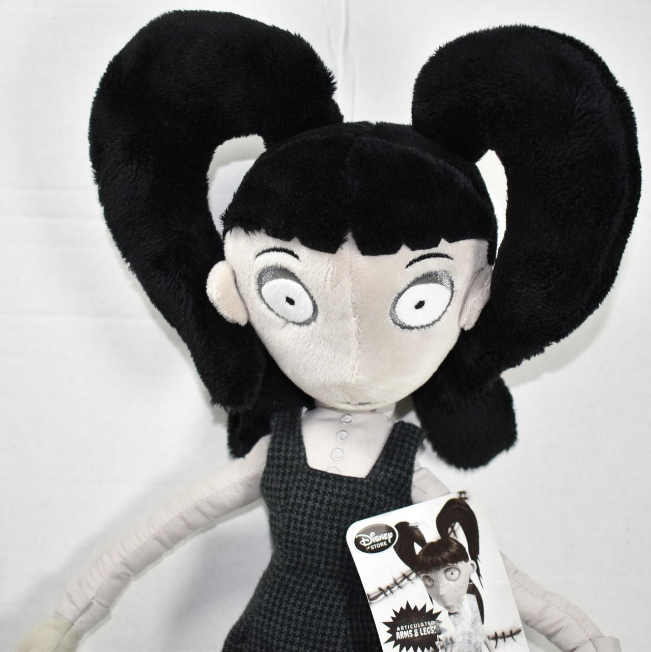 Disney Store Tim Burton S Frankenweenie Elsa Van Helsing Plush Toy New Nwt Ebay