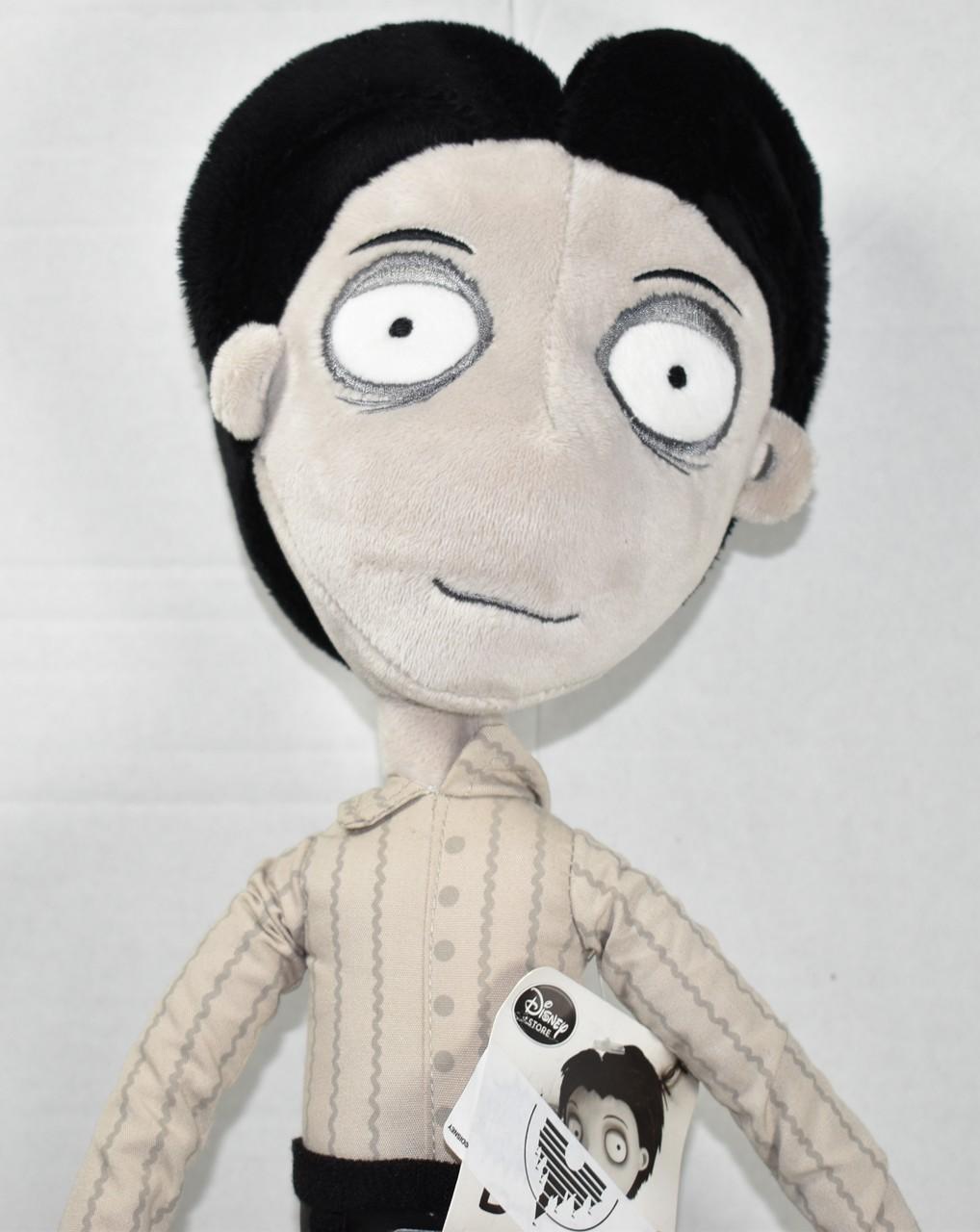 Disney Store Tim Burton S Frankenweenie Victor Frankenstein Plush Toy New Nwt Ebay