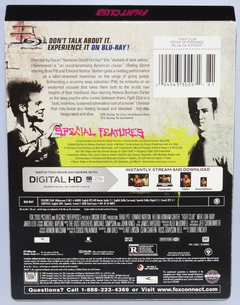 fight club blu ray  Negozio di sconti online,Fight Club Blu Ray