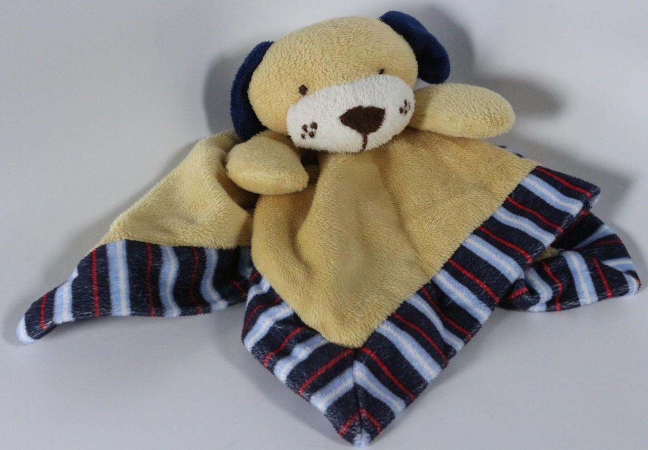Red Brown Lovey Tender Cute Dog Tender Kisses Blanket Baby