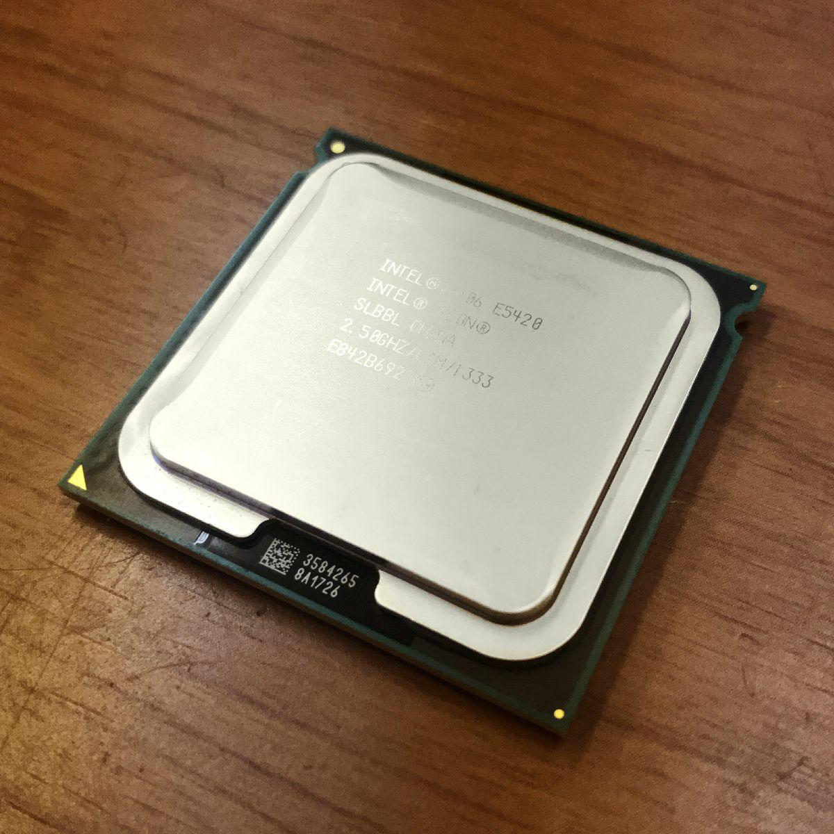 Intel Xeon E5420 Harpertown 2.5 GHz 12MB L2 Cache LGA 771 80W Processor -  USED