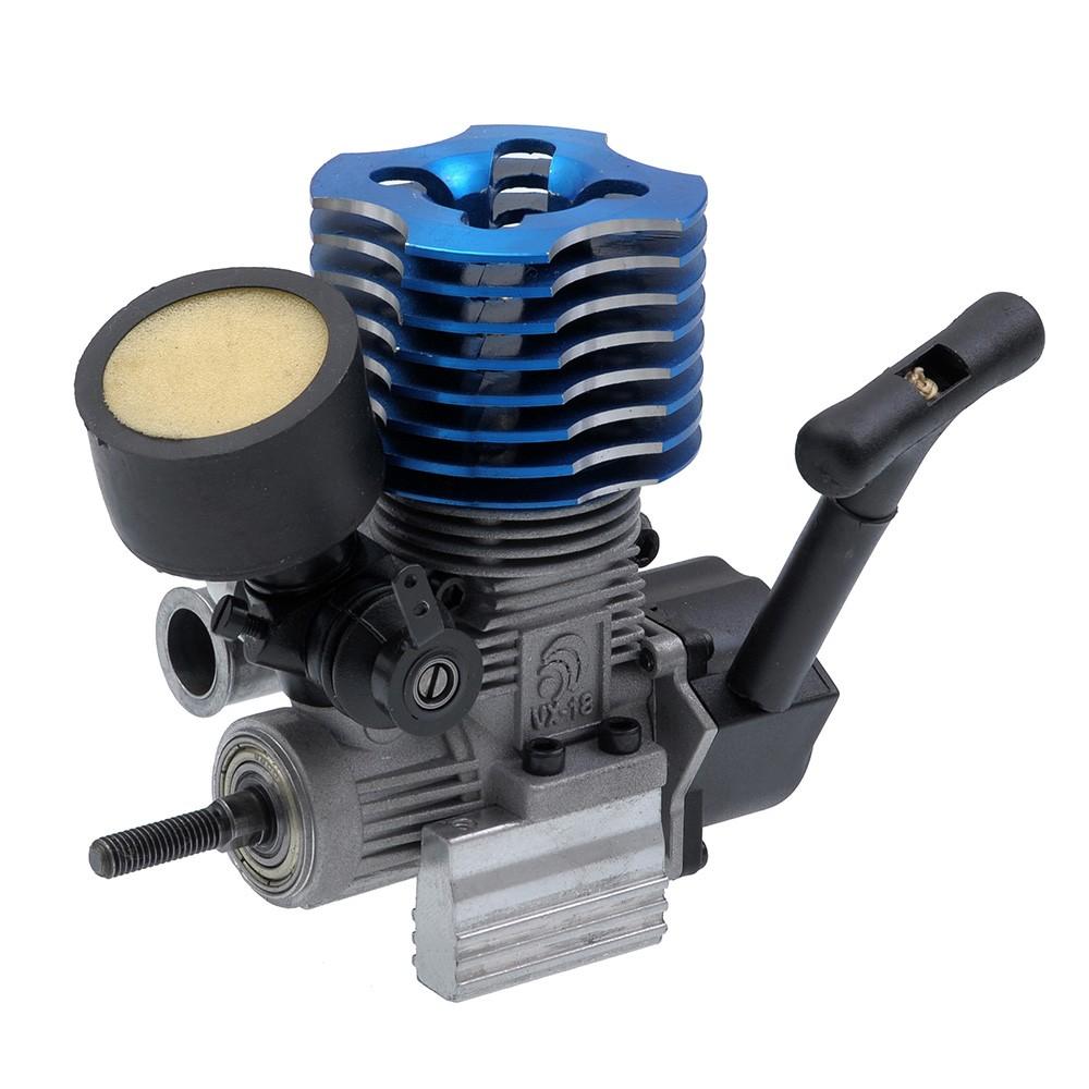 Nitro R C Cars Engine Tuning Secrets: VX .18 (18 CXP) Nitro Engine For Nitro Gas RC Cars