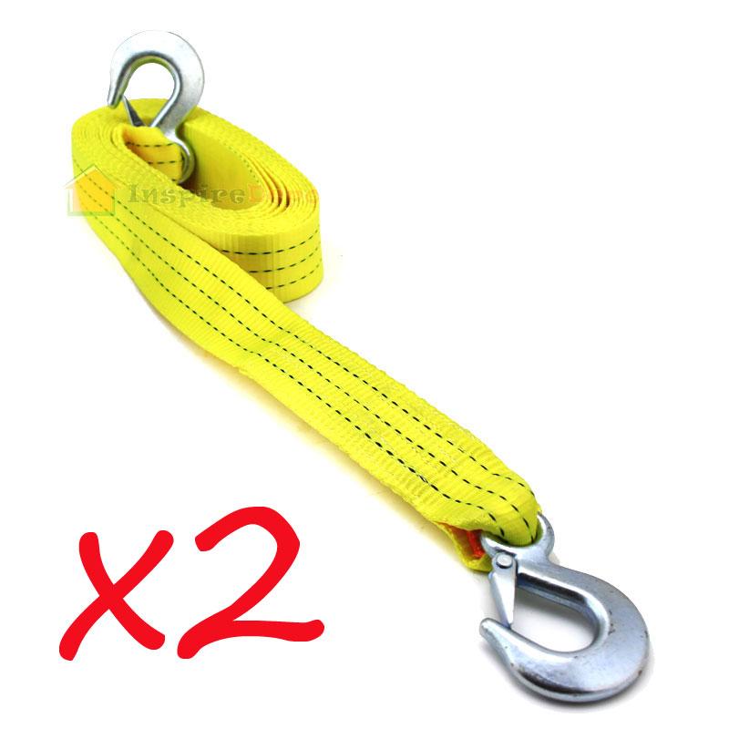 Ski rope hook up