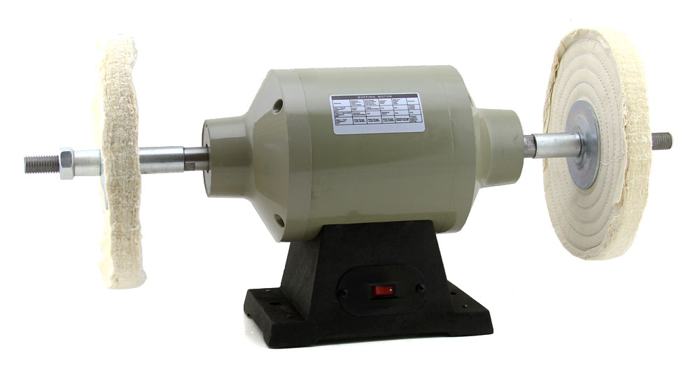 "6"" INCH BENCH TABLE TOP BUFFING MACHINE POLISHER BUFFER ..."