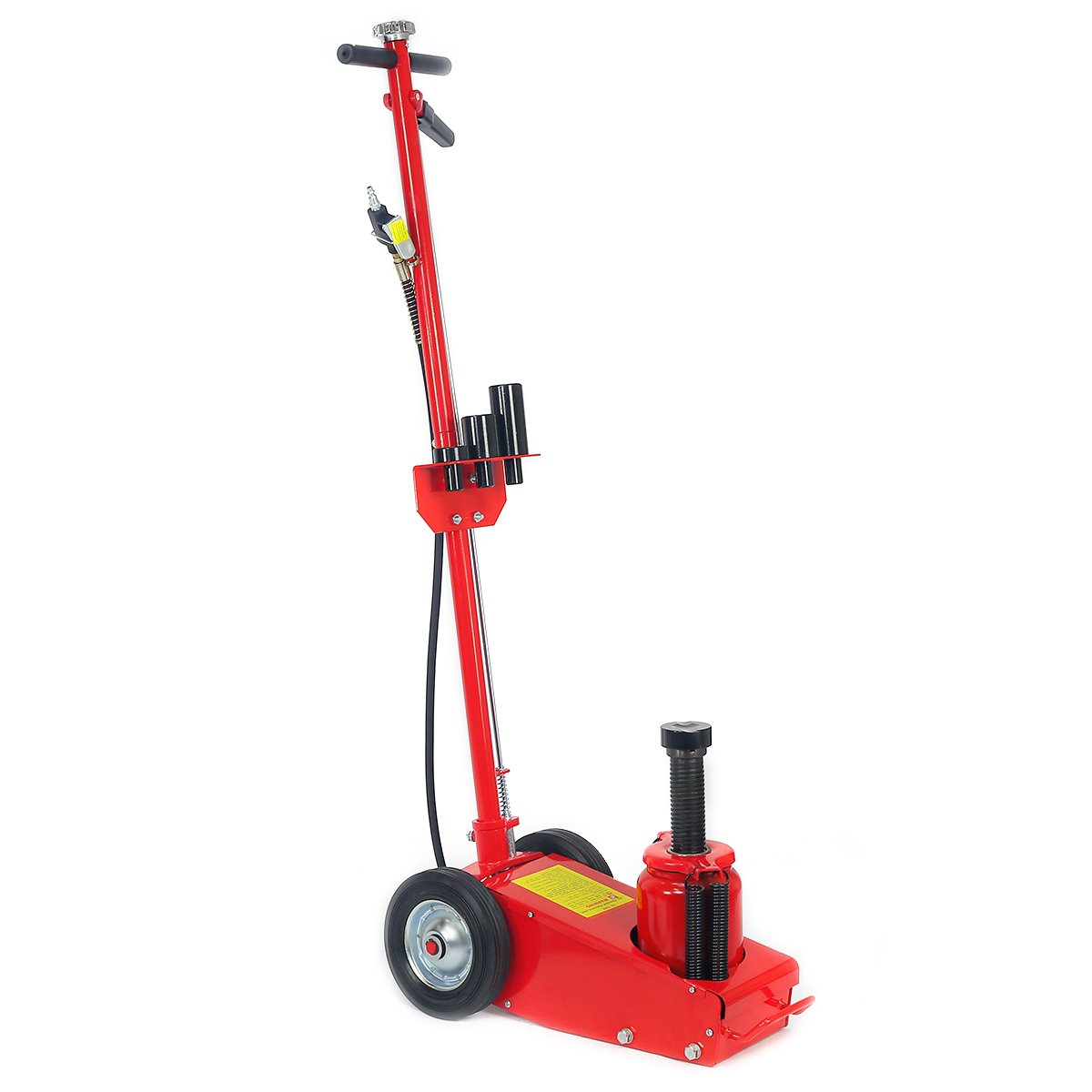 Heavy duty 35 Ton Air Hydraulic Floor Jack Wheels Lift ...