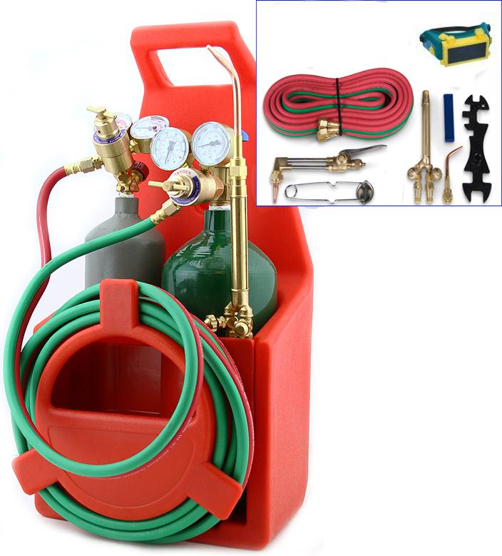 Professional Portable Oxygen Acetylene Oxy Welding Cutting