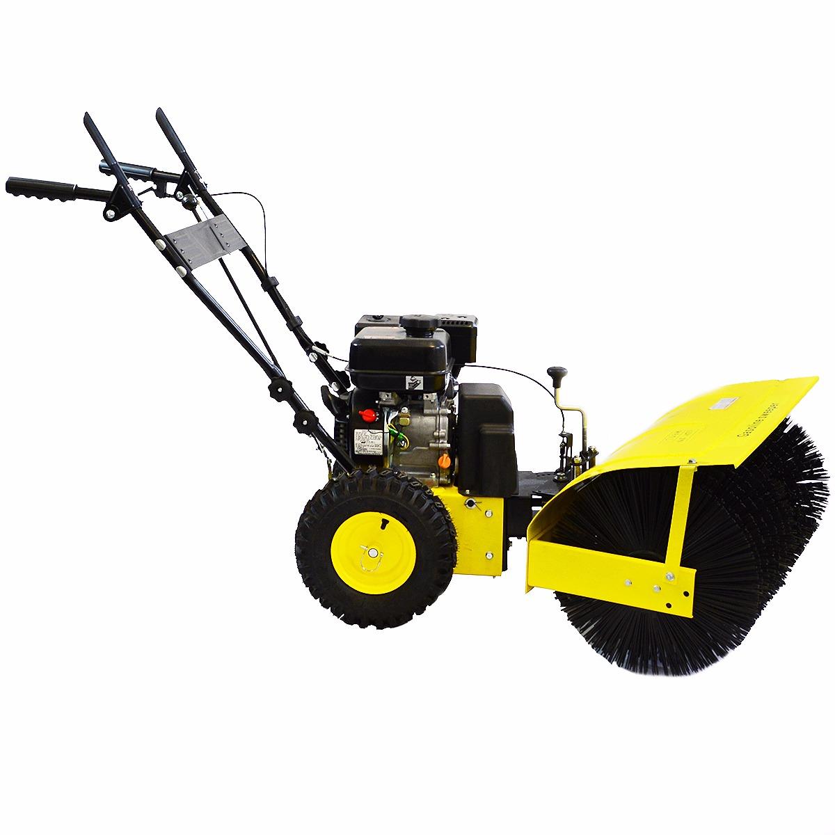 31 Quot Walk Behind Snow Sweeper Power Brush Broom Industrial