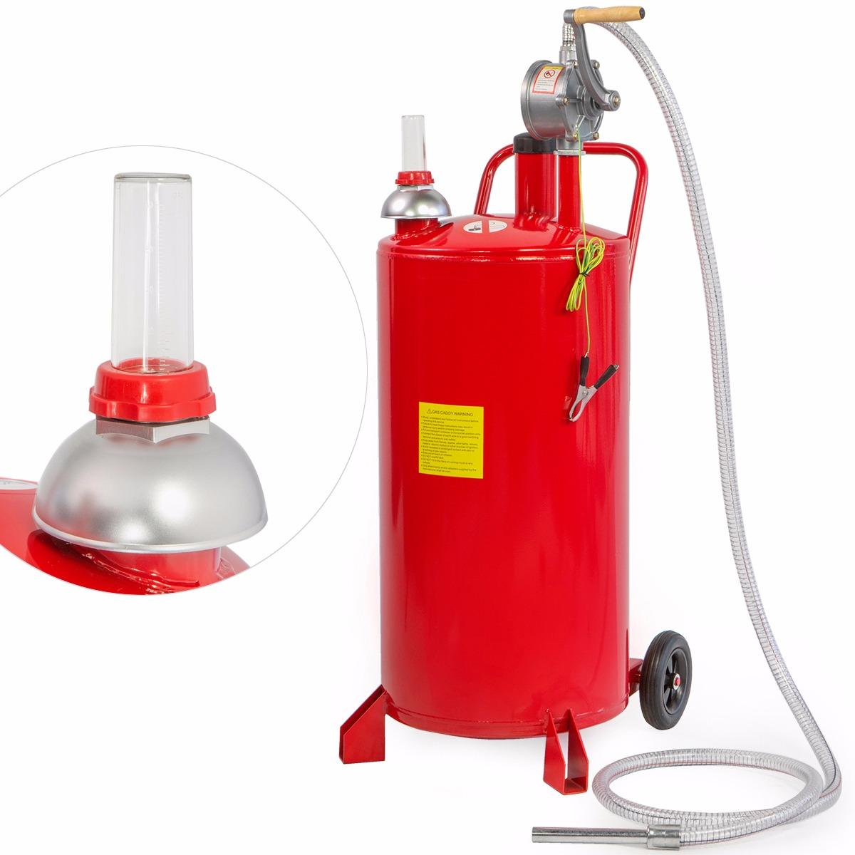 Portable Fuel Tank Gasbuddy : Gallon gas caddy tank storage drum gasoline diesel fuel