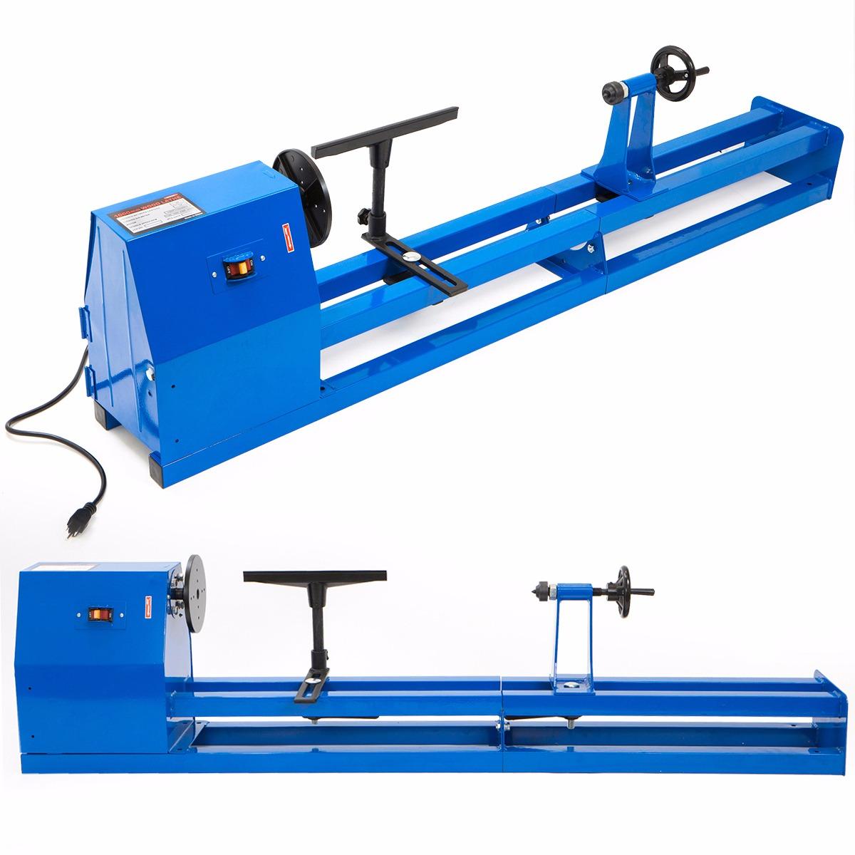 40 Inch 4 Speed 1 2 Hp 120v Wood Turning Lathe Machine 14 X 40