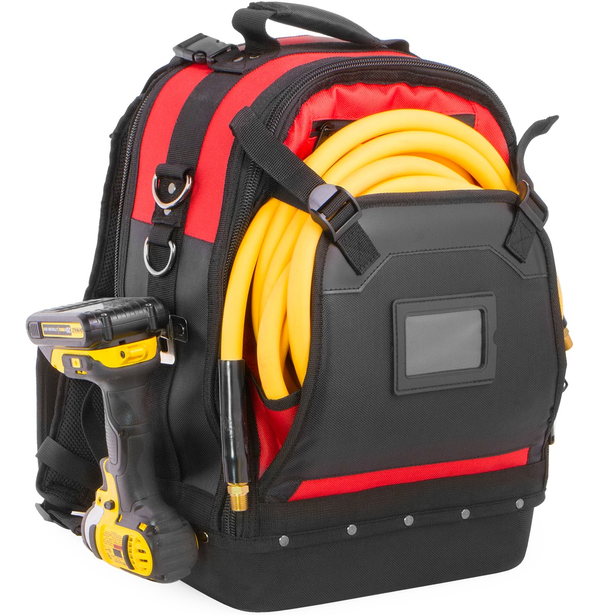Xtreme Tough Jobsite Backpack Tool Storage Bag Heavy Duty Construction Book  Bag