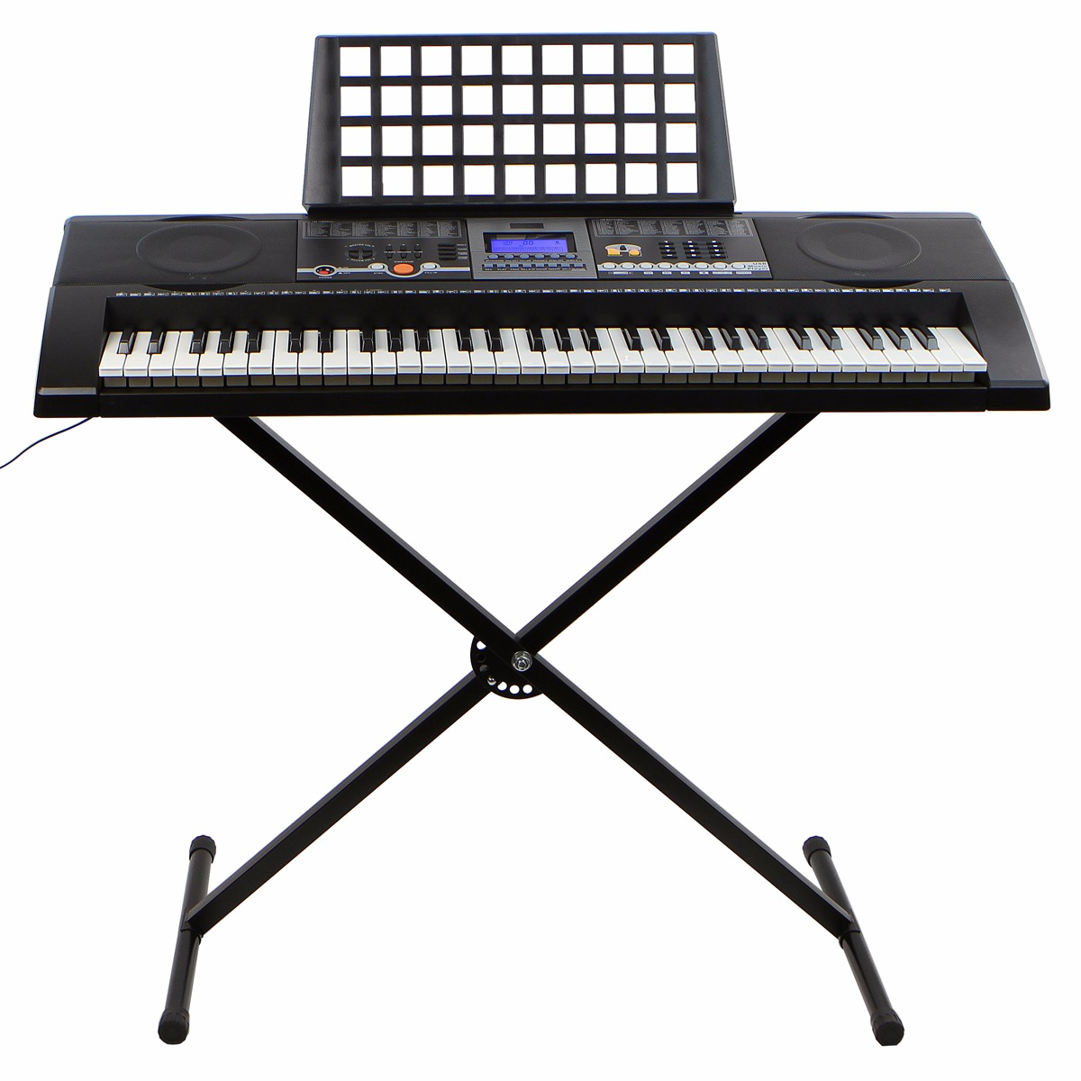 electronic piano keyboard 61 key music key board piano with x stand