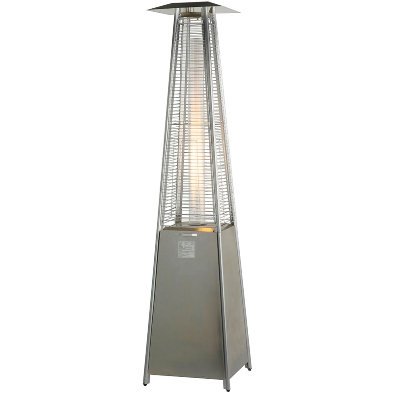 Pyramid Flame Stainless Steel Warmth Gazebo Propane Heater