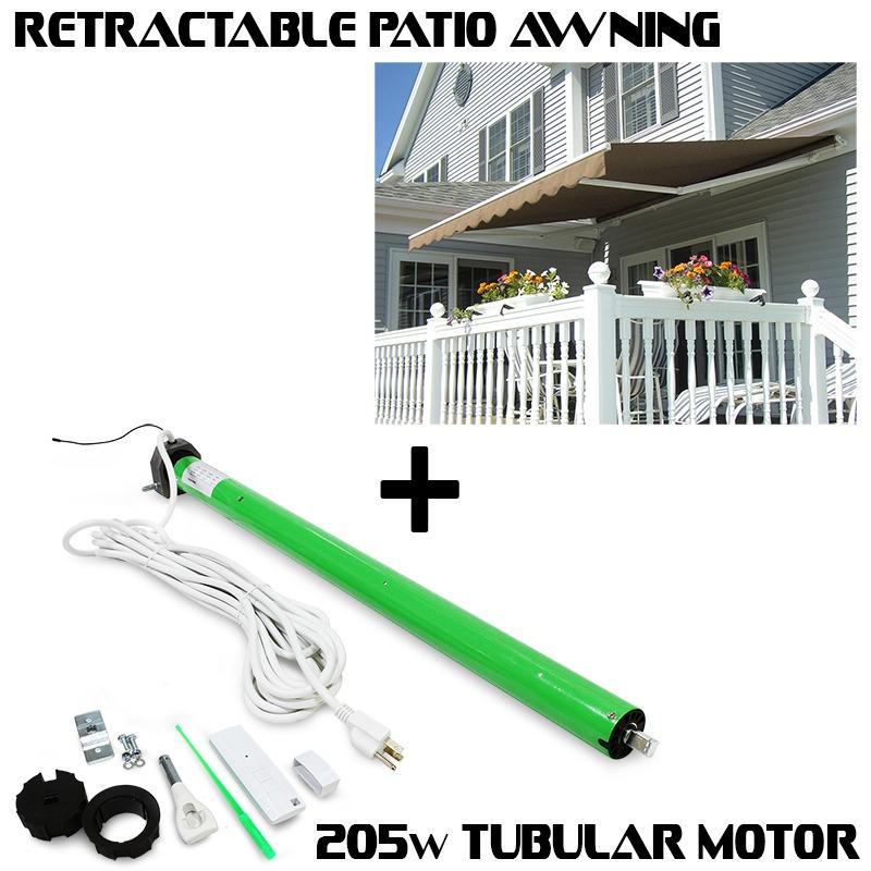 Attractive 10u0027 X 8u0027 / 12u0027 X 10u0027/ 8u0027x6u0027 Patio Awning Retractable Motorized Manual Tan  Shade