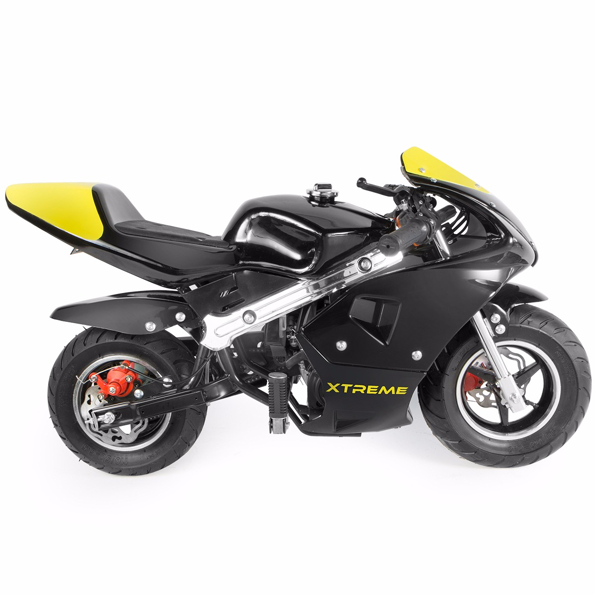 XtremepowerUS Gas Pocket Bike motorbike Scooter 40cc Epa engine ...