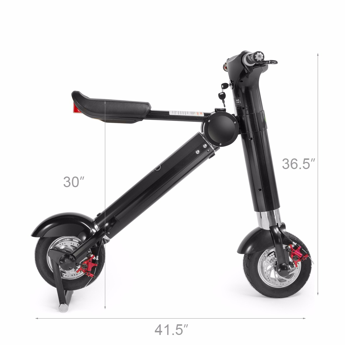 Folding Electric Scooter And Urban Ride Hover K E Bike Electric