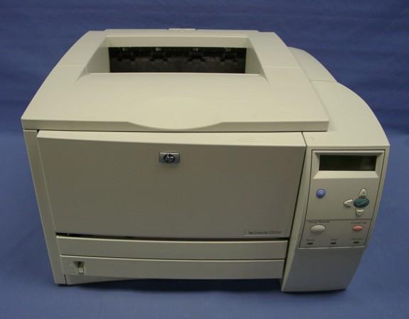 HP LaserJet 2300D Printer PCL5e Driver Windows XP
