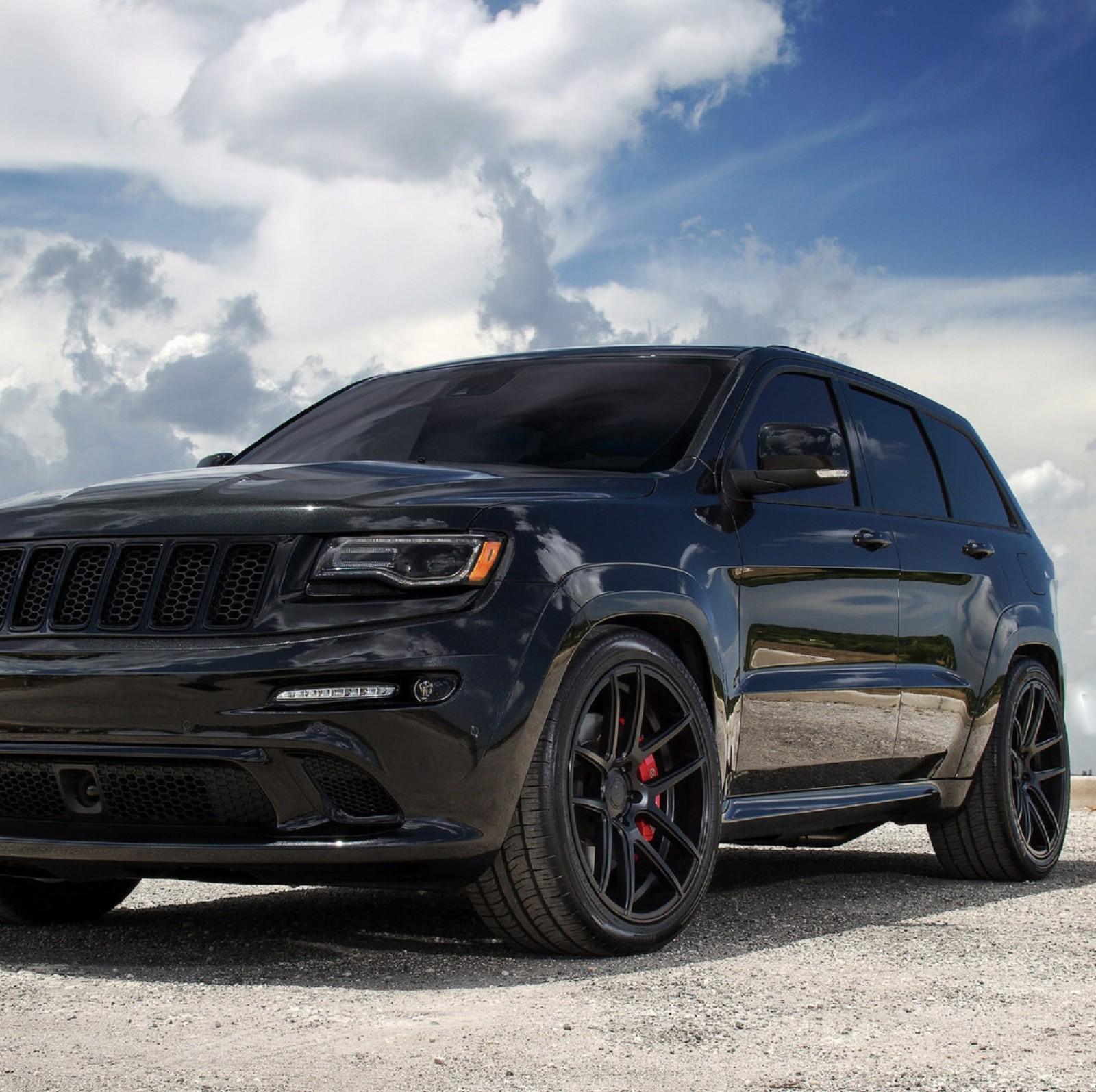 20x10 5 Velgen Vmb5 Black Concave Wheels Rims For Jeep Grand Cherokee Dodge Ebay