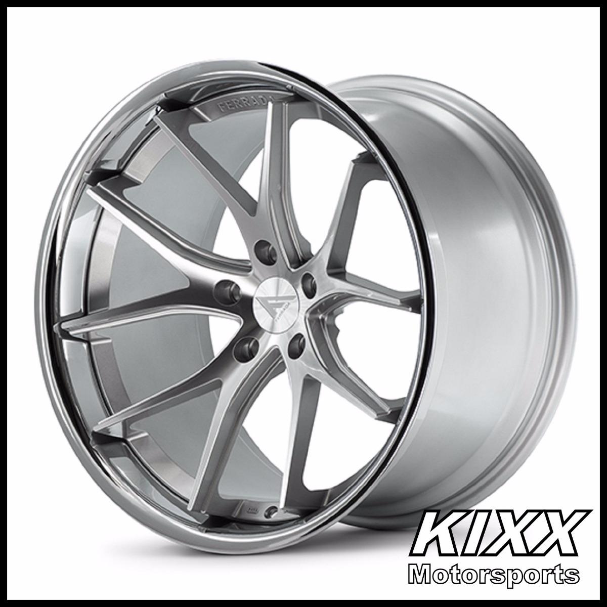 19 ferrada fr2 silver wheels for audi b8 a4 s4 ebay 2016 Audi R8 White 19 ferrada fr2 silver wheels for audi b8 a4 s4