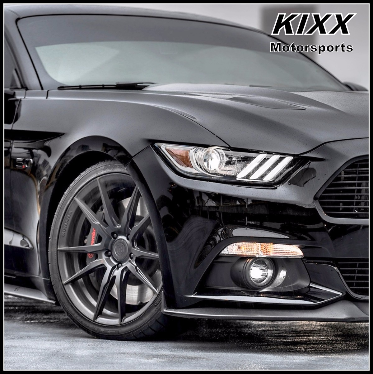 20 rohana rf2 20x9 20x10 black forged concave wheels for ford mustang gt gt500