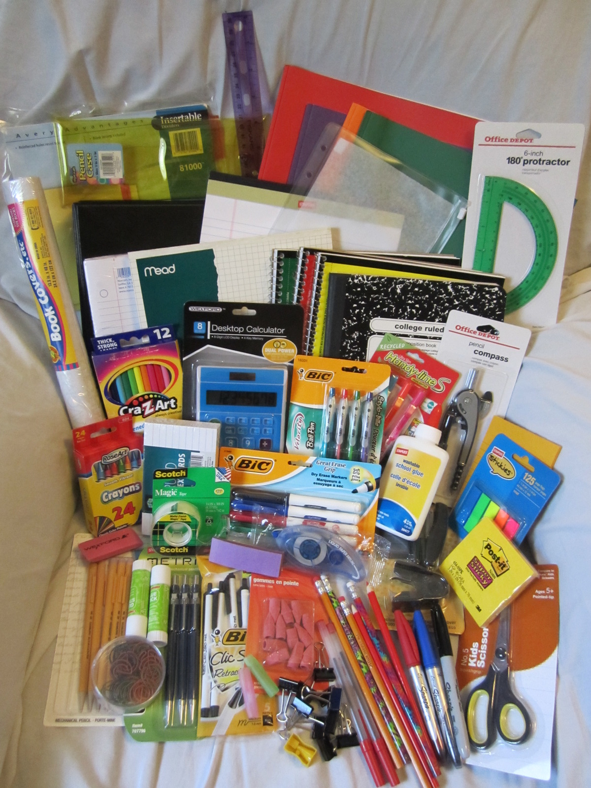 ULTIMATE BACK TO SCHOOL SUPPLIES LOT *ALL THE ESSENTIALS