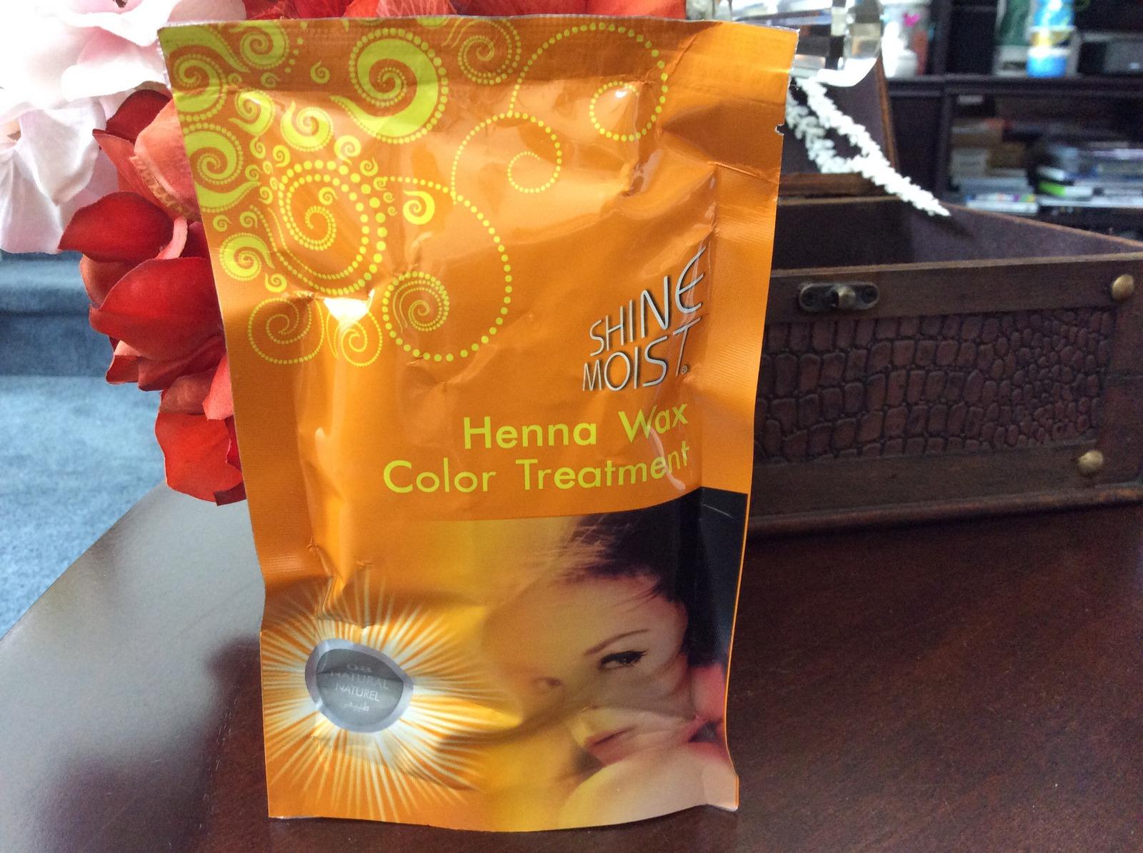 1 Hair Cellophane Shine Moist Color Henna Wax Treatment Dull Hair
