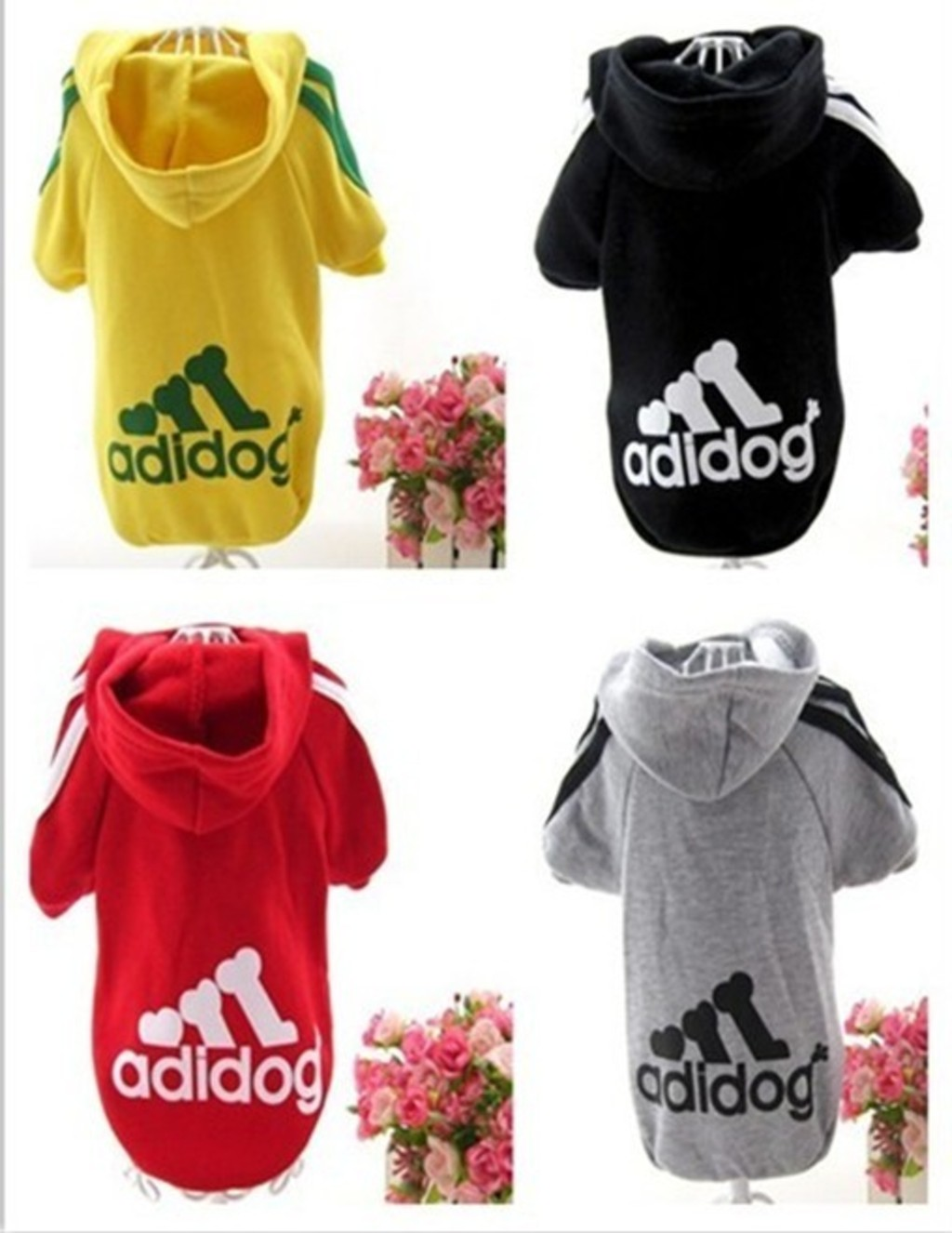 New Hot Pet Puppy Dog Clothes Clothing Hooded T Shirt Autumn and