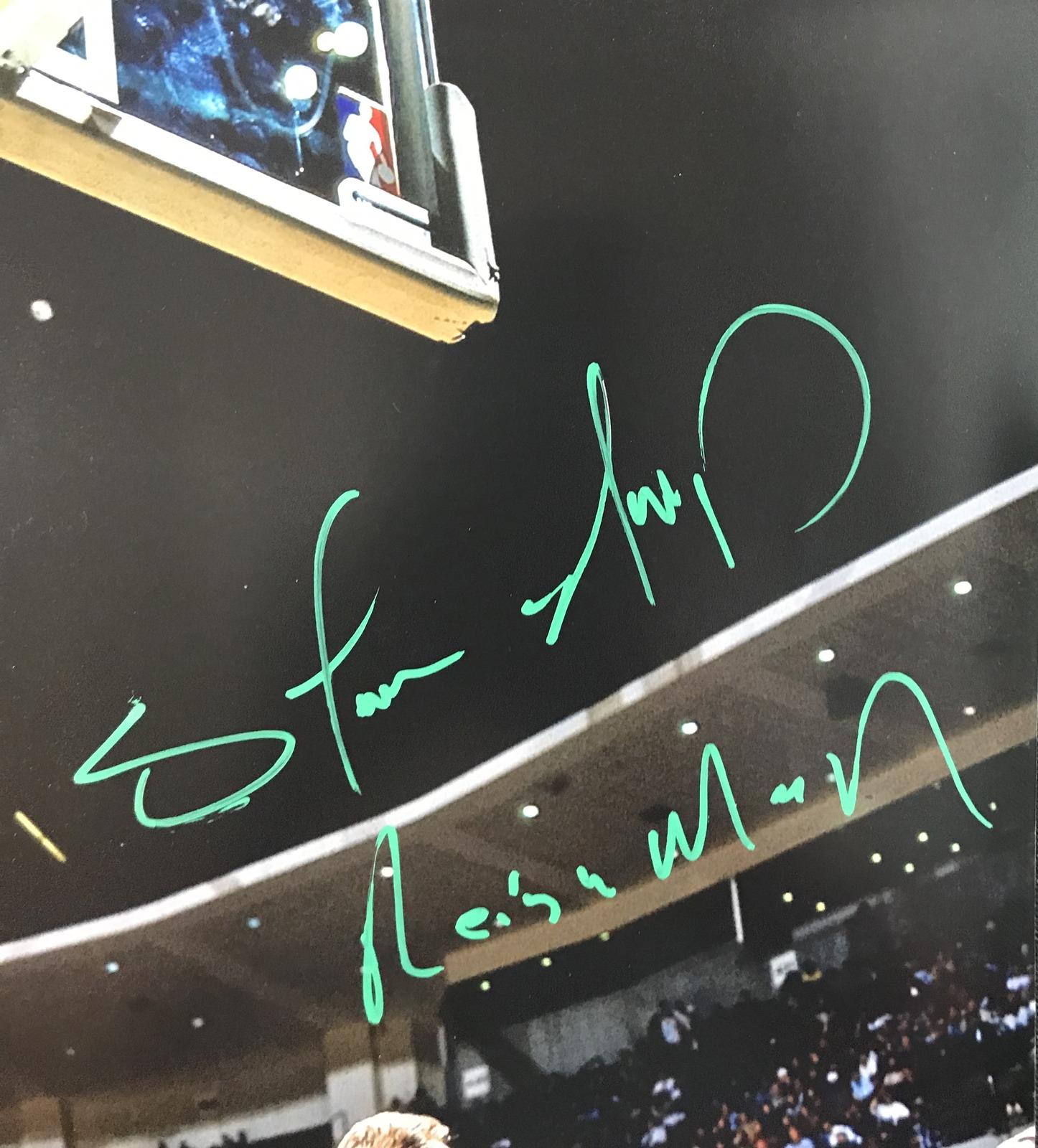 2551c43efc19f THE REIGN MAN! Shawn Kemp Signed SEATTLE SONICS Slam Dunk 16x20 ...