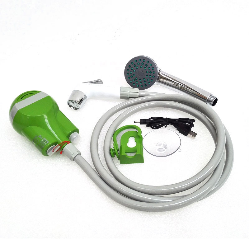 Portable Outdoor Camping Cordless Mini Smart Shower USB Rechargeable Water Pump