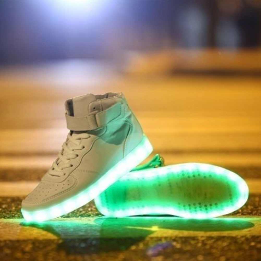 the best attitude ab8ca 78541 ... color changing light up nike air max ltd Multi LED Light Up High ...
