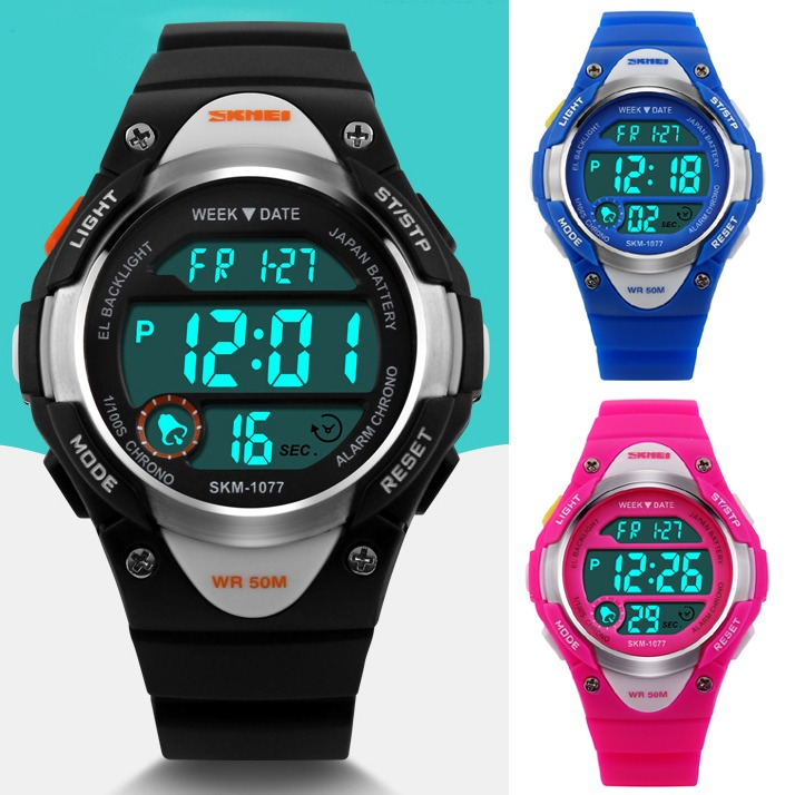 skmei made china mens watches detail in blue newest product and sports digital black