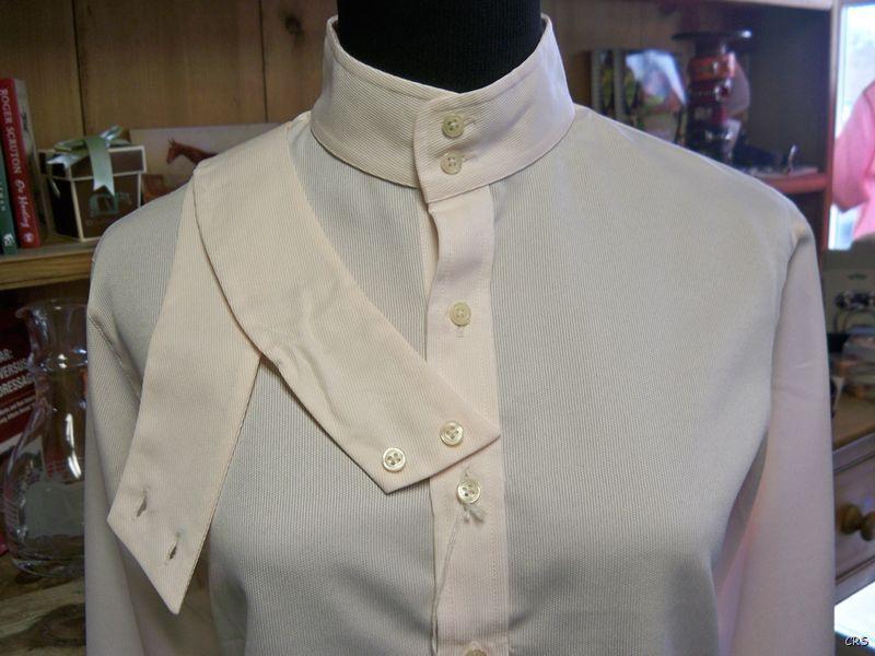 Royal Highness Equestrian Coolmax Herringbone Show Shirt