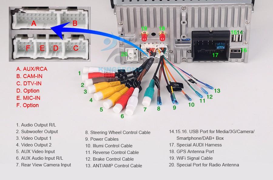 KS3769C K24 Wiring Diagram android 7 1 car dvd cd gps navi benz c class w203 clc w203 w209 GMC Factory Stereo Wiring Diagrams at eliteediting.co
