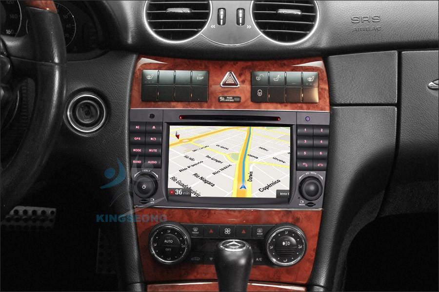 Cavo AUX jack 3.5mm autoradio stereo per Mercedes W169 W203 W209 W221 W164 R230