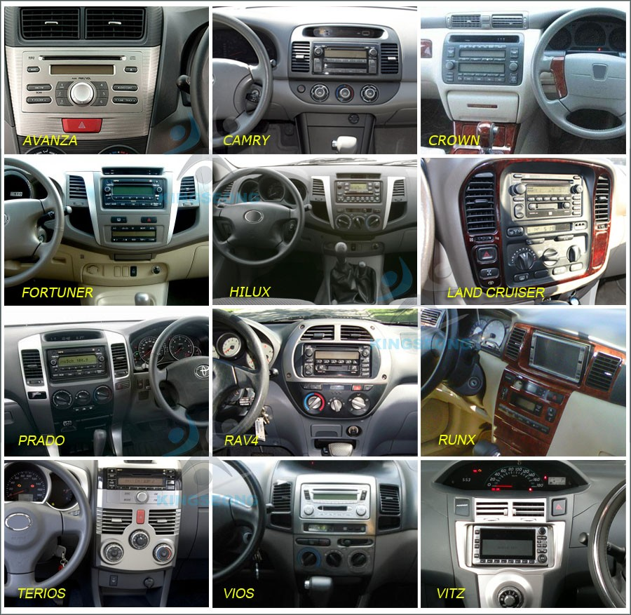 Android 80 Dab Radio Car Stereo Dvd Gps Toyota Prado Corolla Ex Electronics 718113 Reverse Wiring Harness For Select 20002006 Support Rear View Camera Input And Trigger Control Steering Wheel Special Canbus Decoder Incl Hand Brake Electronic