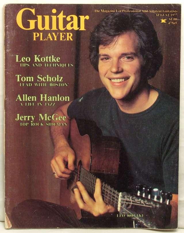 Leo Kottke Fix My Car >> Guitar Player Magazine Leo Kottke Tom Scholz Allen Hanlon Jerry