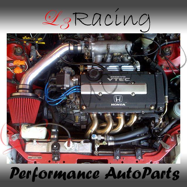 94 01 Acura Integra GSR Type R Air Intake Kit Red Filter