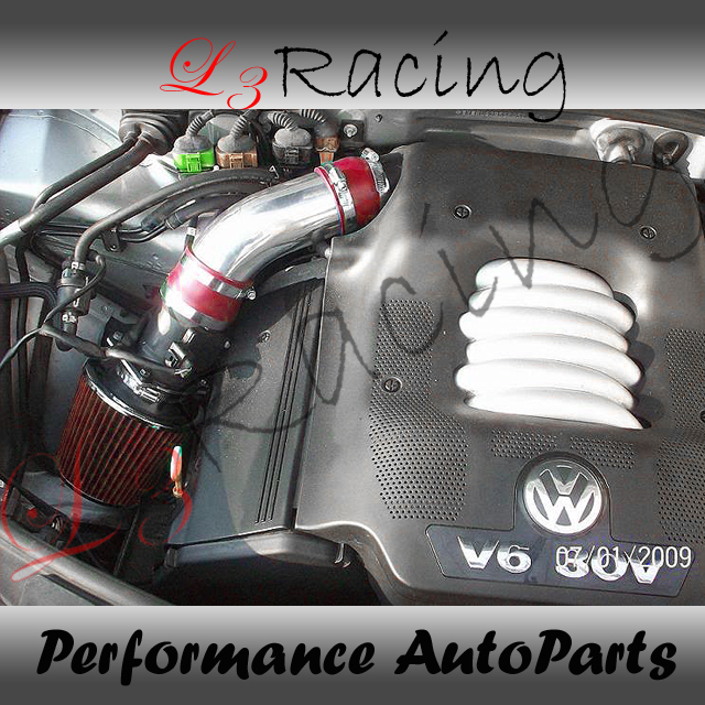 98 05 VW Passat 2 8 V6 RAM Air Intake Kit Red Filter