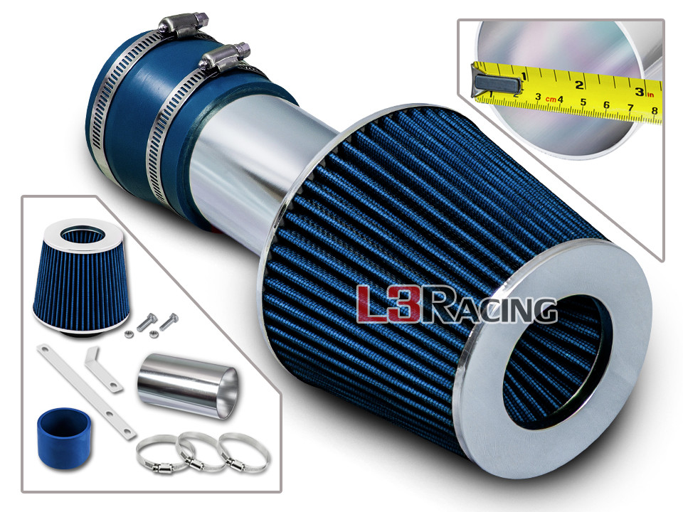 BLACK BLUE 00 01 02 03 04 05 CHEVY IMPALA//MONTE CARLO 3.4L V6 AIR INTAKE S