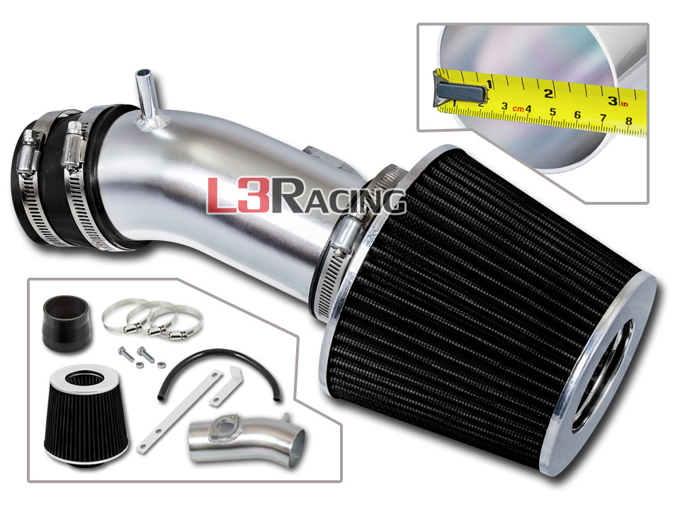 BCP RED 10-12 Mazda 3 Mazda3 2.5L L4 Cold Air Intake Racing System Filter