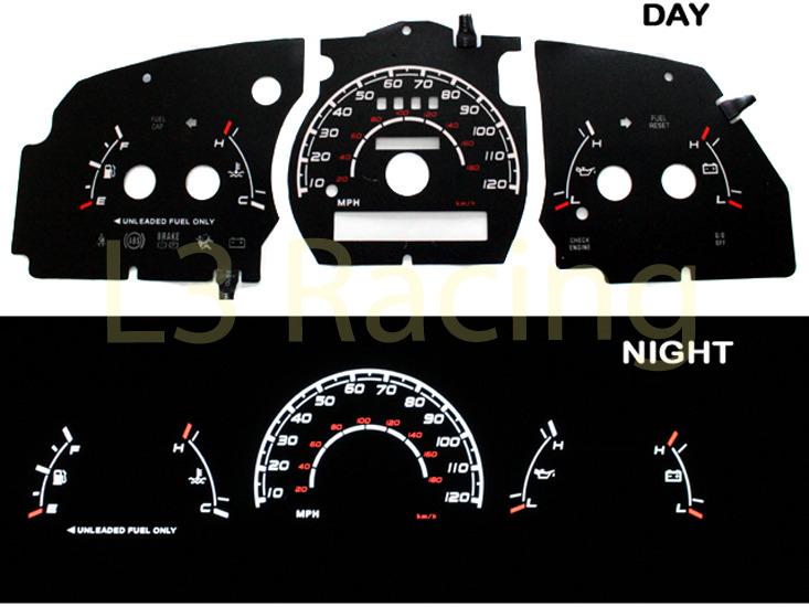 9597 Ford Ranger Wo Tach Black Face White Glow Gauge Ebayrhebay: Ford Ranger Tachometer Wiring Diagram At Gmaili.net