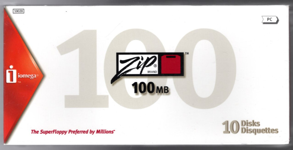 Image 0 of Iomega PC Formatted Zip Disks 100 MB (10-Pack) (reformattable for use on a Mac)