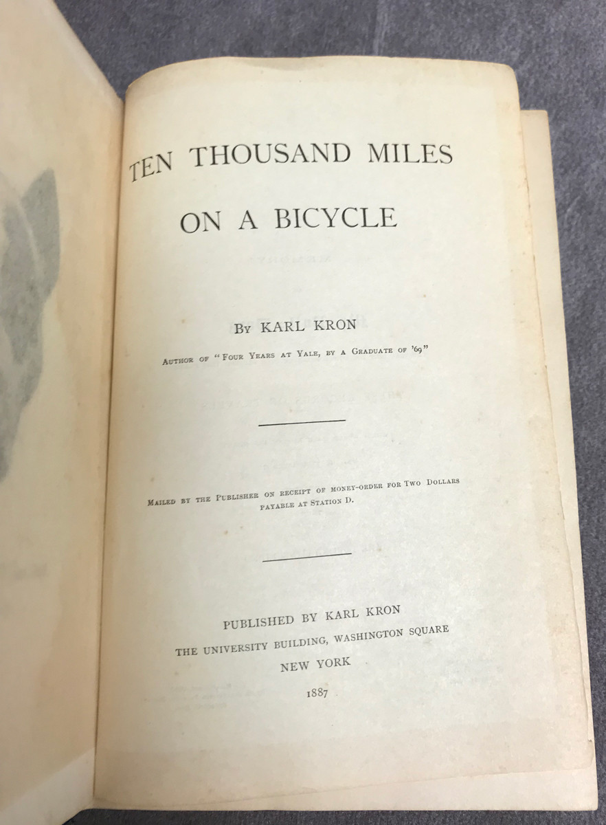 Image 7 of Ten Thousand Miles on a Bicycle