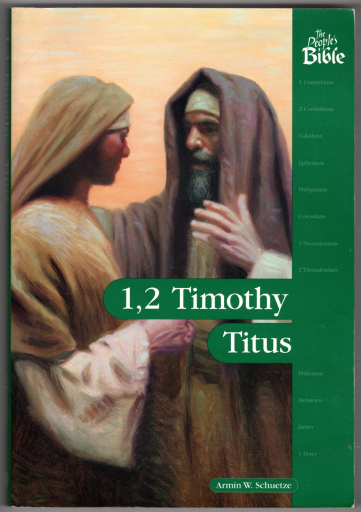 Image 0 of 1, 2 Timothy, Titus (The People's Bible)