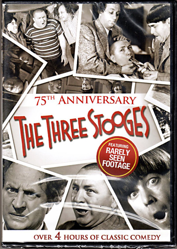 Image 0 of The Three Stooges: 75th Anniversary ~ Over 4 Hours of Classic Comedy