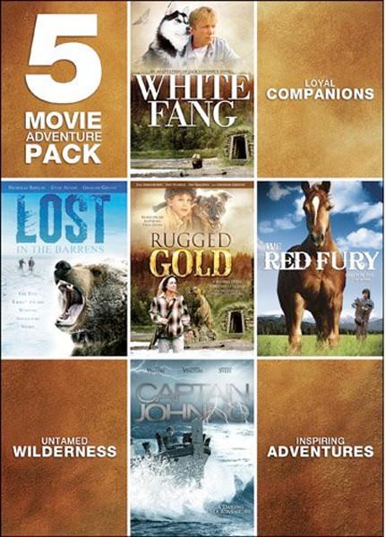 Image 0 of 5-Movie Adventure Pack