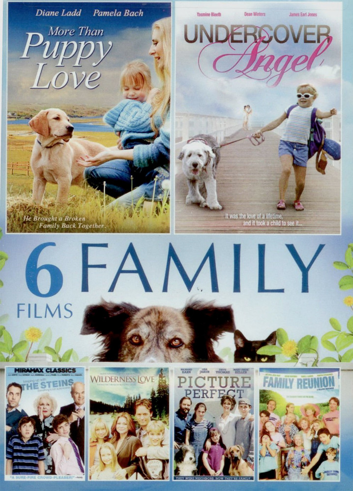 Image 0 of 6-Movie Family Collection 4