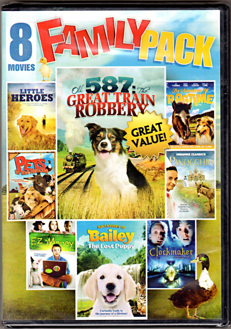 Image 0 of 8-Movie Family Pack
